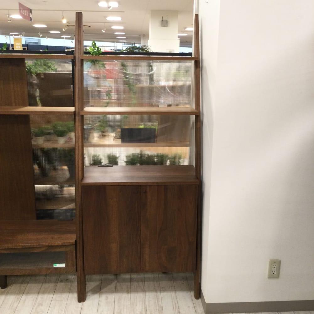 【ホームズ平井店 展示特価品】 シェルフキャビネット ディープB両開き