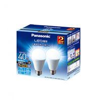 LED電球 広配光タイプ 2個パック 【40W】【E26】 LDA4DGEW2T