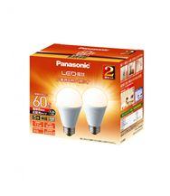 LED電球 広配光タイプ 2個パック 【60W】【E26】 LDA7LGEW2T