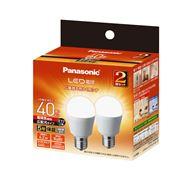 LED電球 広配光タイプ 2個パック 【40W】【E17】 LDA4LGE17ESW2T