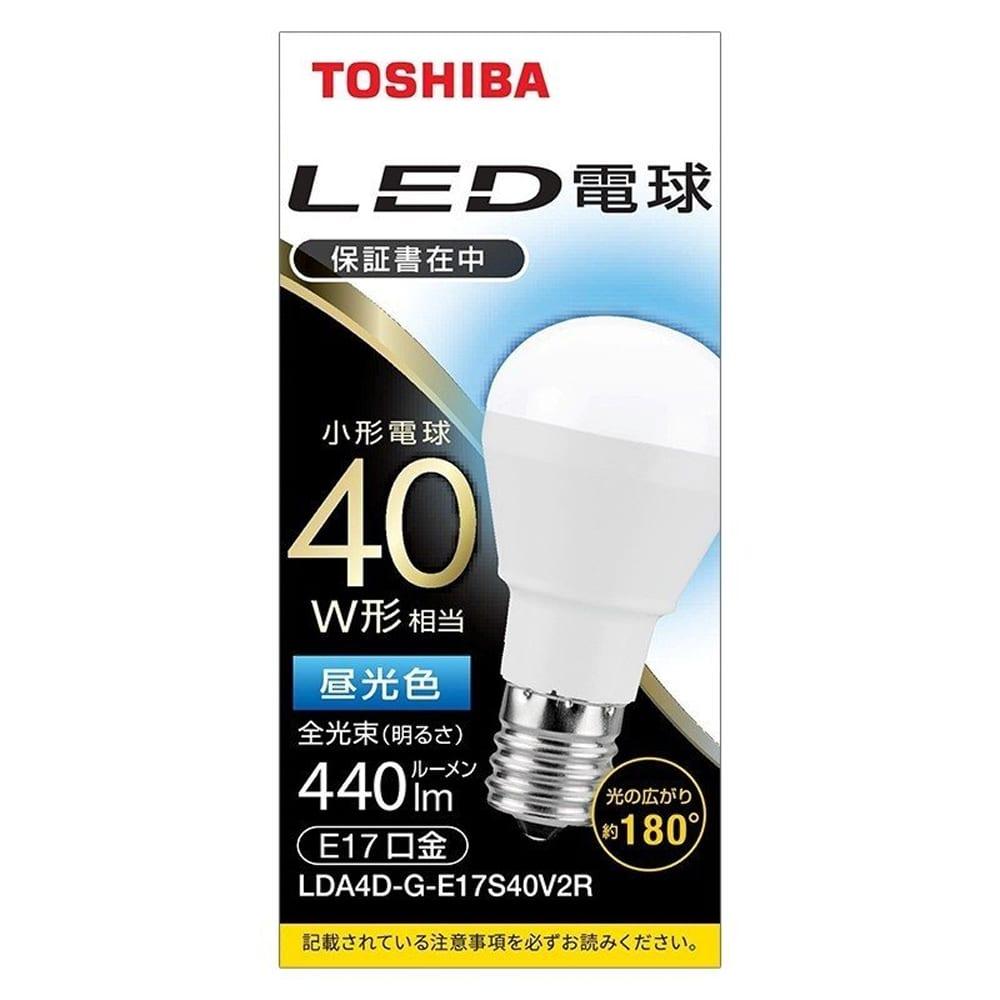 LED電球ミニクリ 【40W】【E17】 LDA4D−G−E17S40V:ミニクリプトン形 断熱材施工器具対応 広配光タイプ