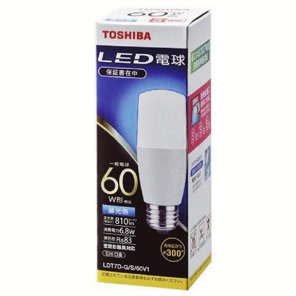 LED電球T型 【60W】【E26】 LDT7D−G/S/60V1:D形の電球形蛍光灯からの置き換えに 300度の配光