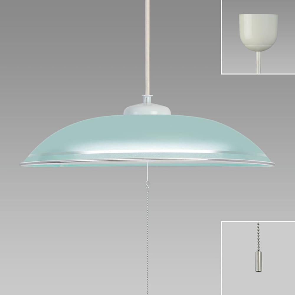 洋風LEDペンダント 【〜8畳対応】 HCDB0853−G:対応畳数区分の中で、明るさMAX グリーン樹脂セード