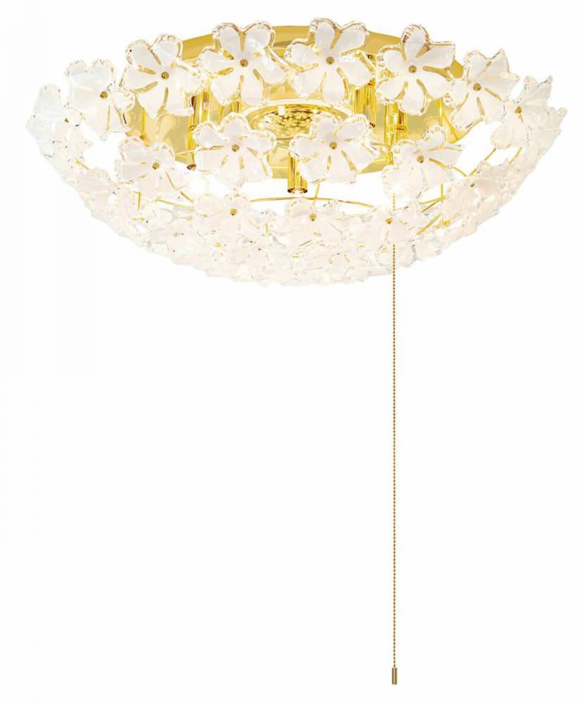 花柄シーリング GEM−6895:人気の花びらデザイン型シーリング