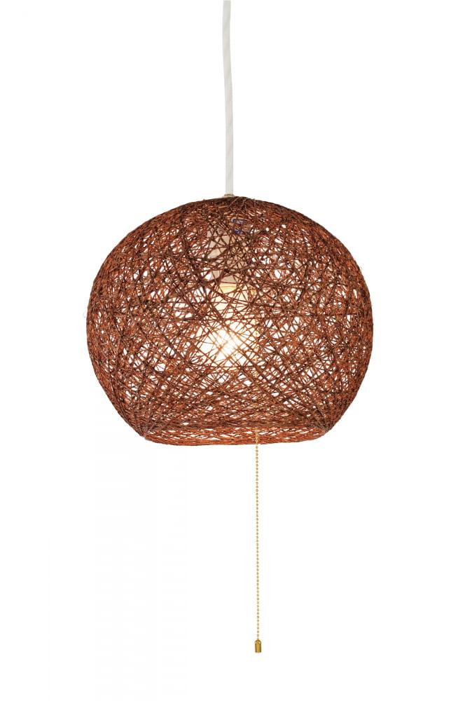 LEDペンダント GEM−6947:ナチュラルな素材感が魅力のペンダントライト