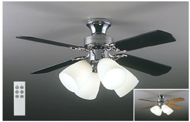 【電球別売り】LEDシーリングファン ASS−400RE:羽がリバーシブル、ランプ別売