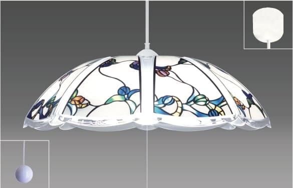 洋風LEDペンダント 【〜8畳対応】 RVR80101:リモコンでも引きヒモでも操作できるペンダントライト