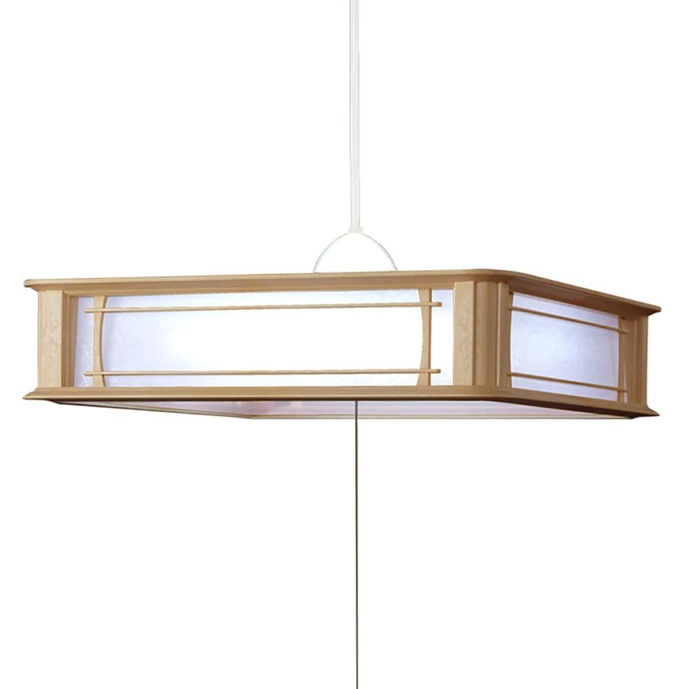 LED和風ペンダント 【〜12畳対応】 RV12073:エネルギー消費効率100%超えの省エネモデル