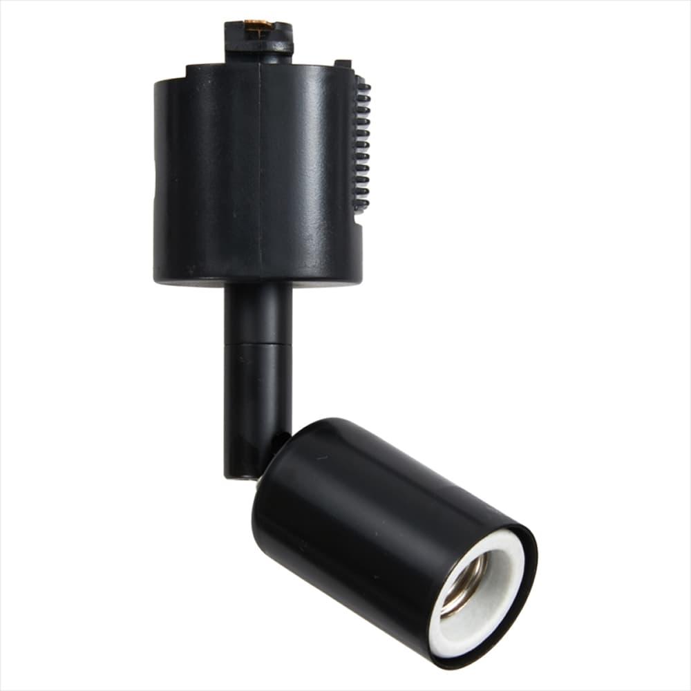 【電球別売り】スポットライトショート E17用 電球なし LCX100E171BK:スポットライトショート黒E17電球なし