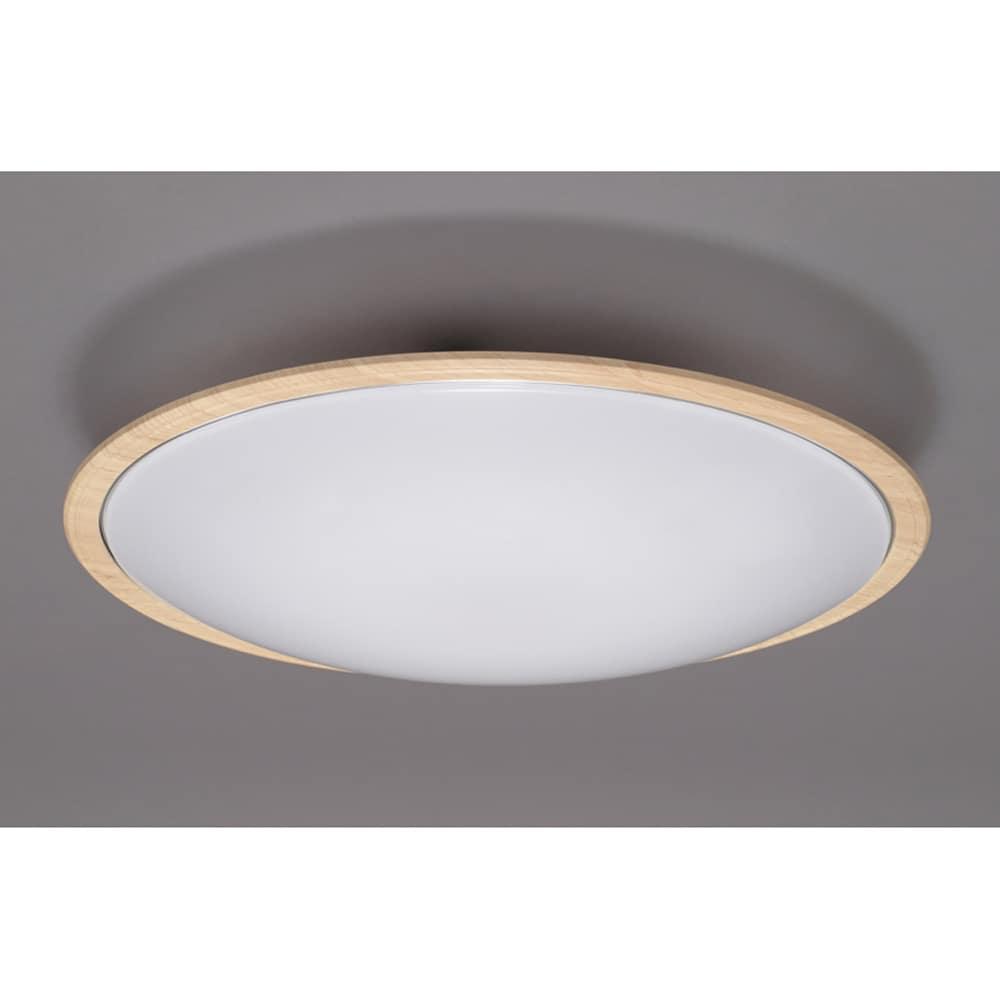 LEDシーリング ウッド調フレーム 12畳調色 【〜12畳対応】 CL12DL−5.1WFU:新技術で明るいのにまぶしくない ムラのない美しい光でお部屋を明るく
