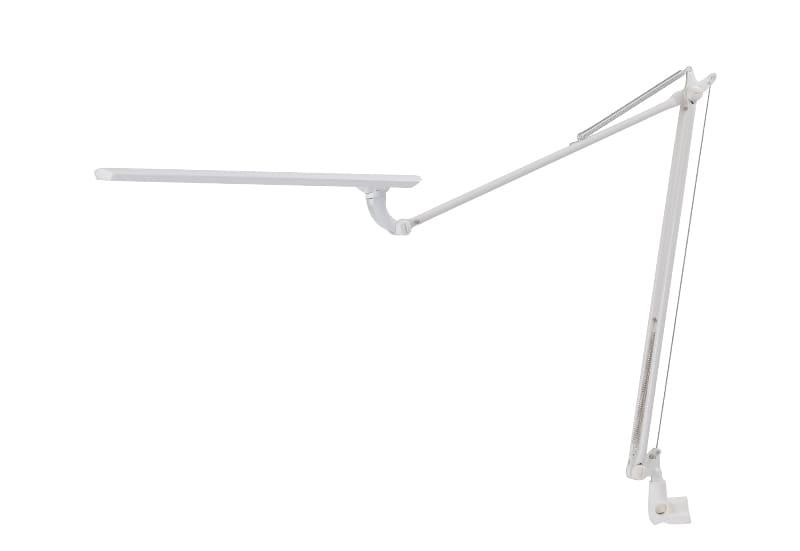 LEDIC EXARM アームライト LEX−970WH:JIS規格AA型相当の明るさでロングアーム使用 日本製モデル