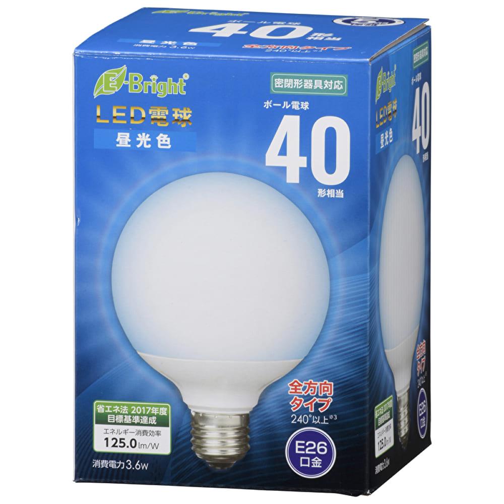 LEDボール球 【40W】【E26】 LDG4D−G AG23:密閉器具対応LEDボール球
