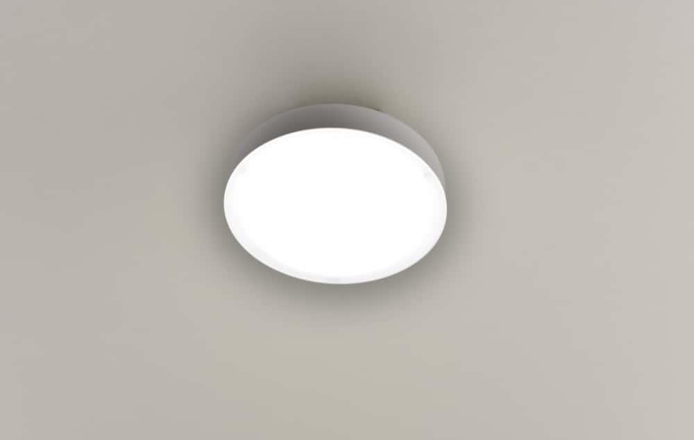 LEDミニシーリング MLC−070N:工事不要ワンタッチ取り付け トイレ・廊下などに適した小型タイプ