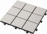 敷くだけタイル磁器 ホワイト30×30