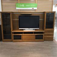 【ホームズ東村山店 展示特価品】 TVボード4点セット No.3590YABUSAME