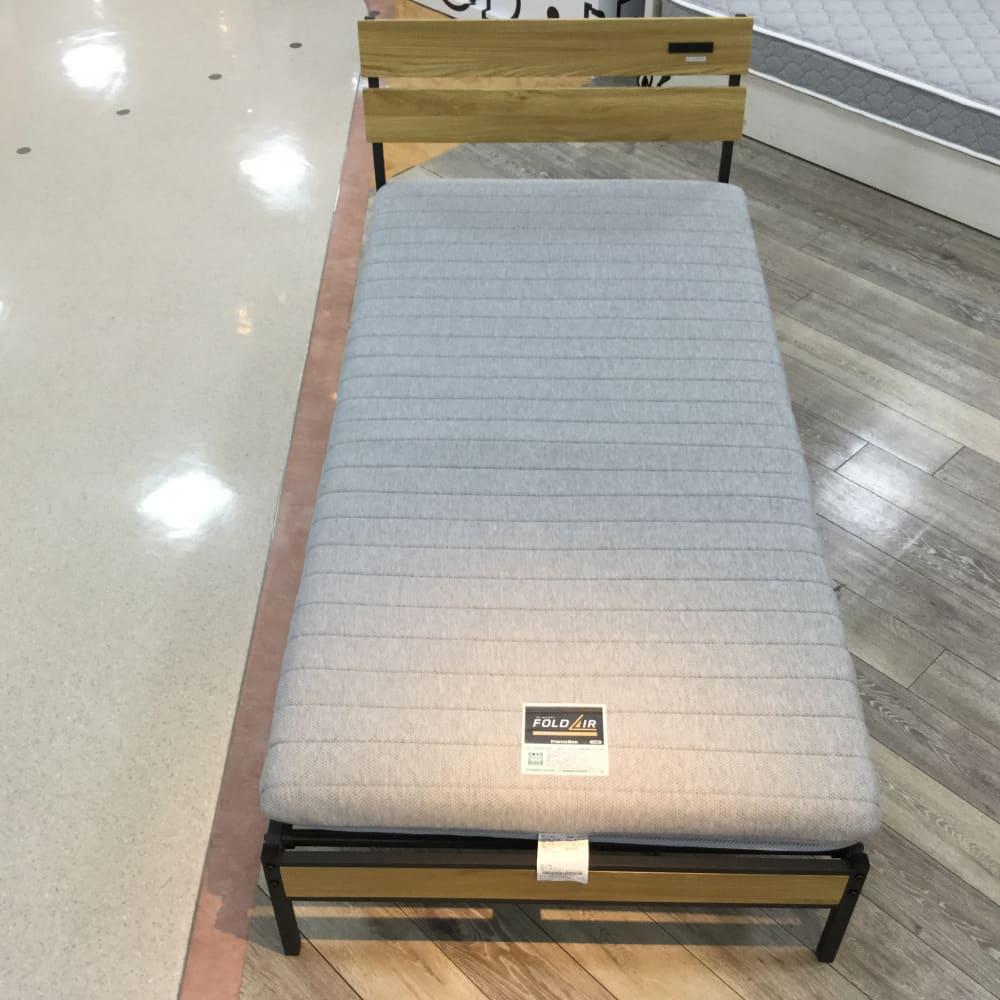 【ホームズ三郷中央店 展示特価品】 シングルベッド オークスタイル/FD-120