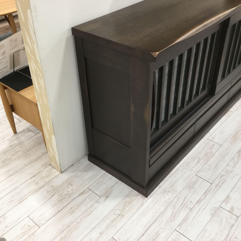 【大和店 展示特価品】 サイドボード 木楽50SB K