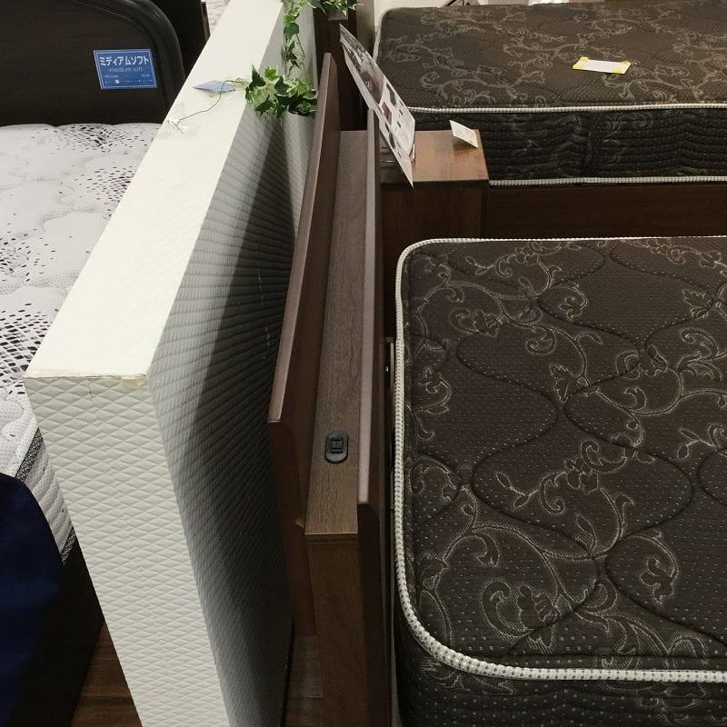 【大和店 展示特価品】 シングルベッド グランゲートキャビ桐床ST/6.5GVAB195