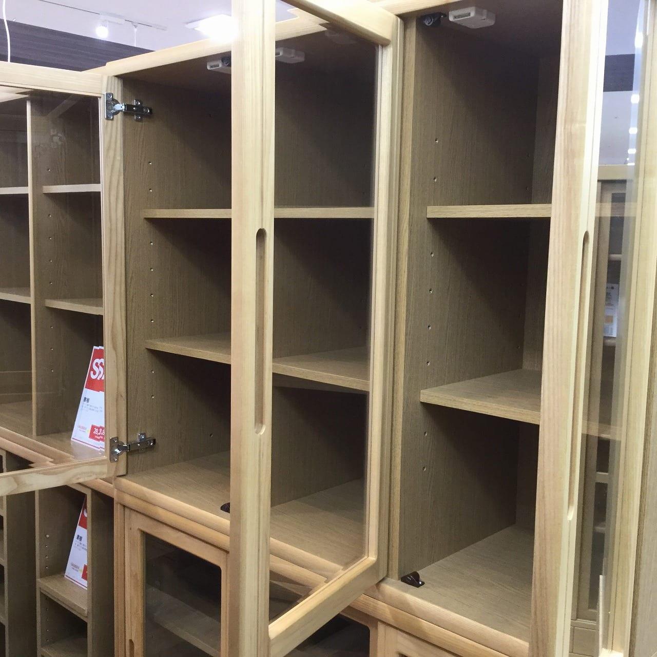 【大和店 展示特価品】 書棚 オファー120開き戸