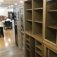 【大和店 展示特価品】 書棚2点セット【小島工芸】 オファー90オープン/90スライドオープン