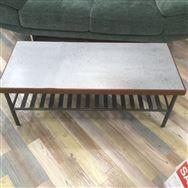 【大和店 展示特価品】 リビングテーブル【クラッシュ】 ギネス鉄板OAK