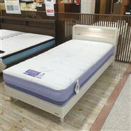 【大和店 展示特価品】 シングルベッド【フランスベッド】 CL-BAEシルキー/スノーヴァ260レッグ