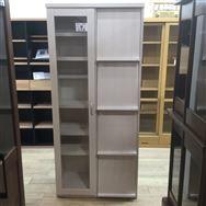 【大和店 展示特価品】 書棚 スカーラ80HフラップWH