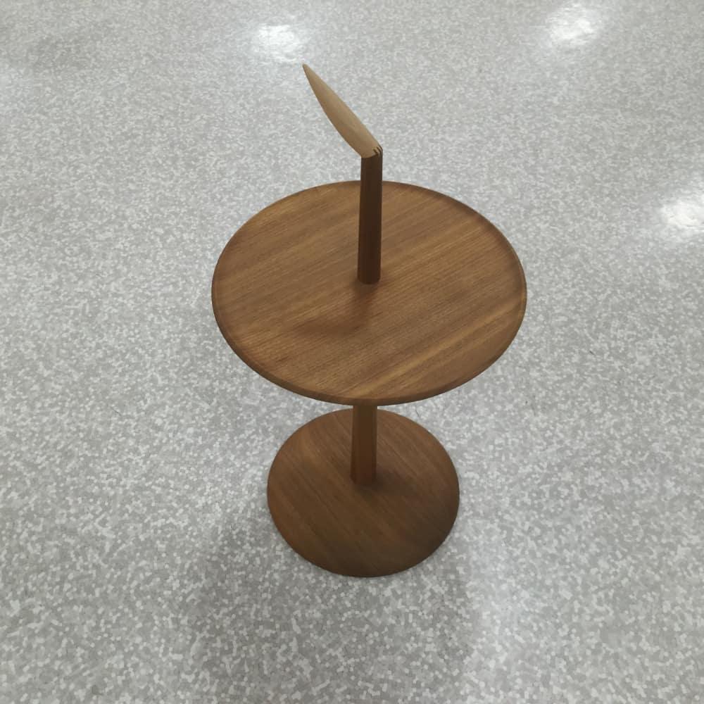 【大和店 展示特価品】 サイドテーブル【nissin】 アクセントNK-315-W