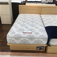 【大和店 展示特価品】 シングルベッド(リフト収納)【simmons】 5.5インチレギュラー/シエラフラット リフト