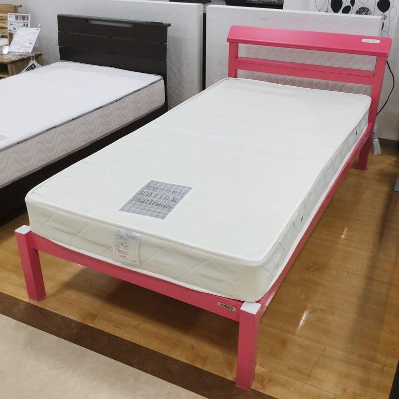【草加舎人店 展示特価品】 シングルベッド ミューズ+ルコル