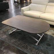 【草加舎人店 展示特価品】 昇降式リビングテーブル XMW-LF-H125GL