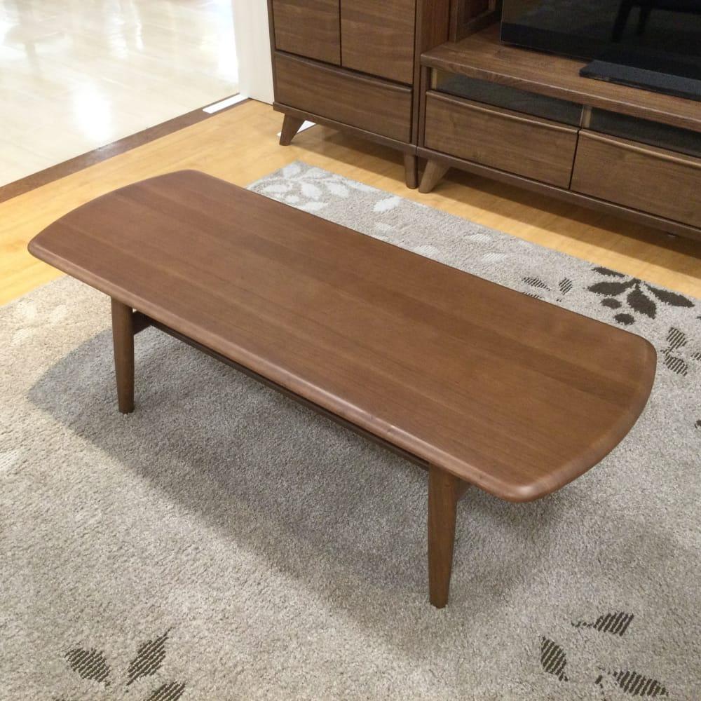 【草加舎人店 展示特価品】 リビングテーブル クロスタイム120