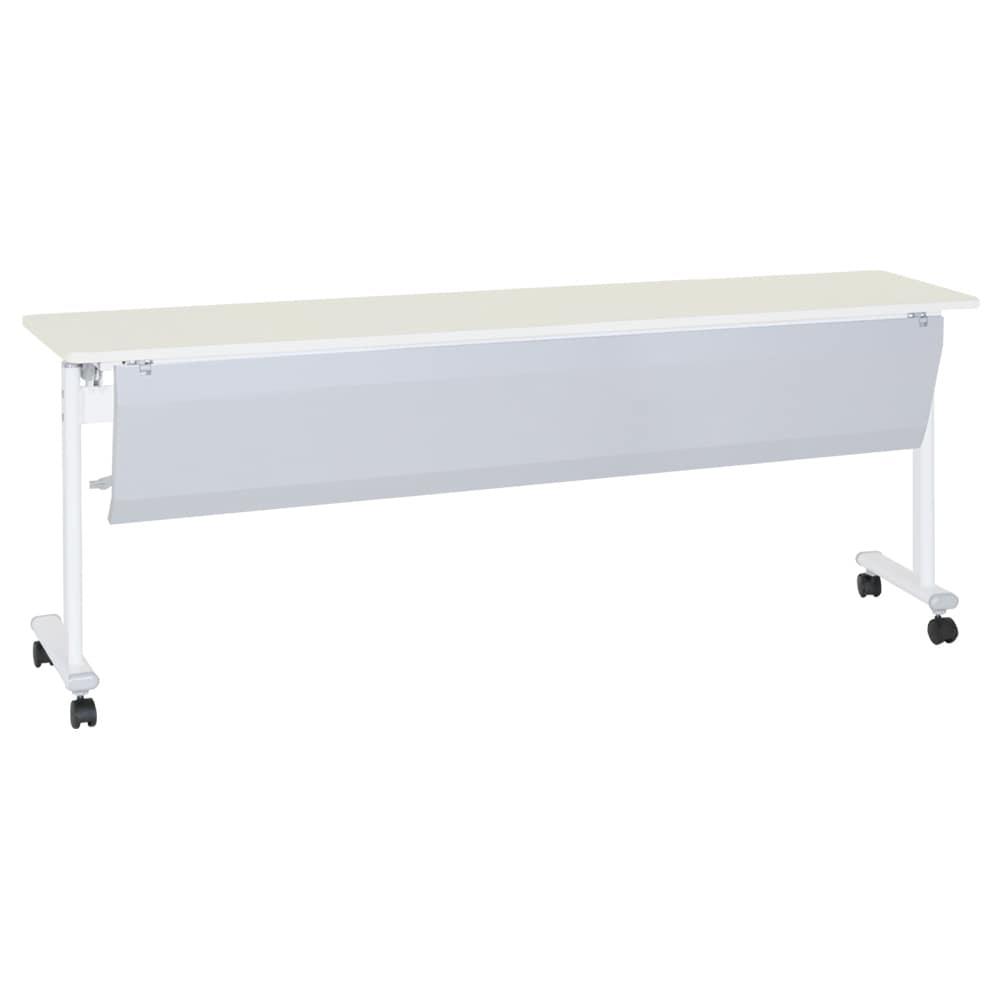 テーブル 幕板付 ASTF−1845P−WH