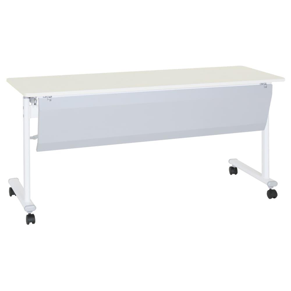 テーブル 幕板付 ASTF−1560P−WH