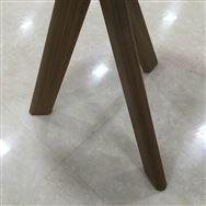 【ホームズ与野店 展示特価品】 センターテーブル ウォールナット無垢 直径47�p