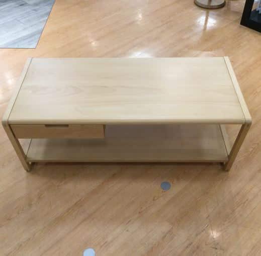 【川越的場店 展示特価品】 リビングテーブル クラム
