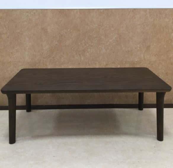 【川越的場店 展示特価品】 センターテーブル T-8208(110×55)