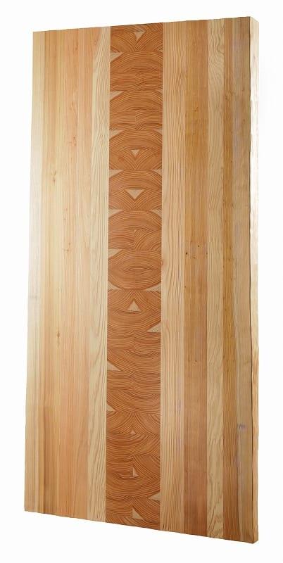 ダイニングテーブル天板 VILLA KQ−83/180テーブル板 白木:ダイニングテーブル天板