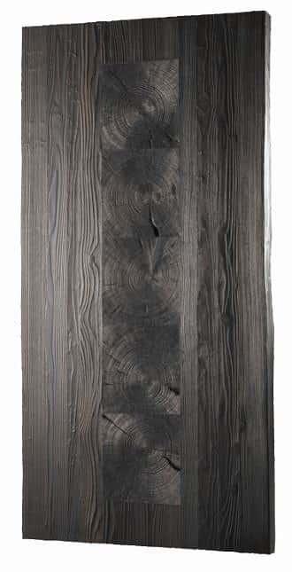 ダイニングテーブル天板 VILLA KQ−131/150テーブル板 BK:ダイニングテーブル天板