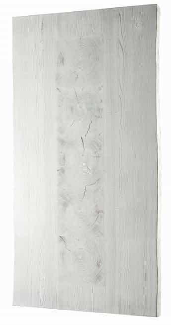 ダイニングテーブル天板 VILLA KQ−132/150テーブル板 WH&GRY:ダイニングテーブル天板