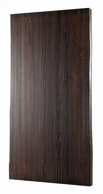 ダイニングテーブル天板 VILLA KQ−166/150テーブル板 BK&RE:ダイニングテーブル天板