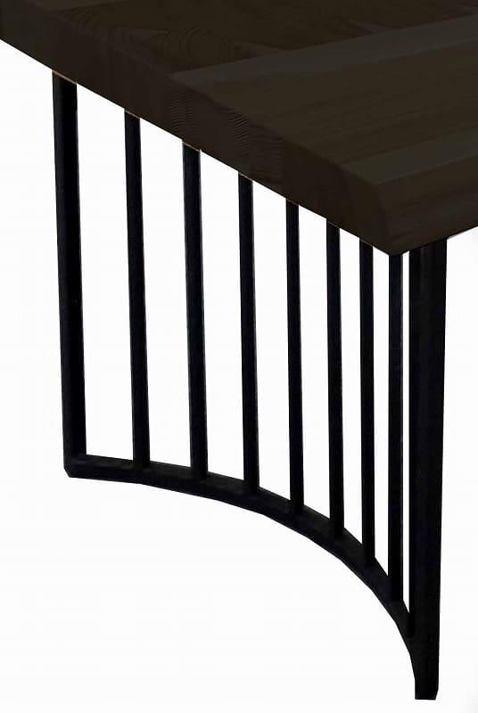 ダイニングテーブル脚 VILLA KQ−LEG3 BK:ダイニングテーブル脚