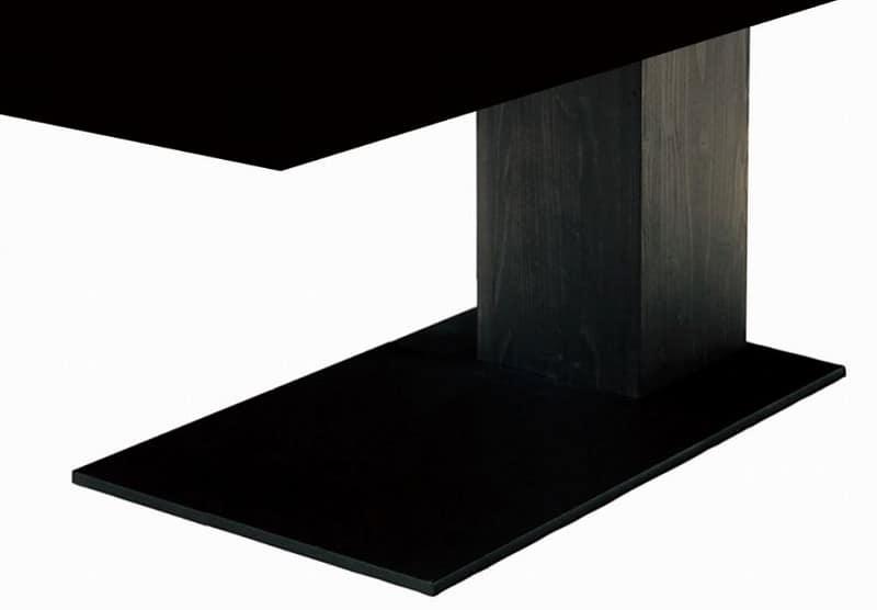 ダイニングテーブル脚 VILLA KQ−LEG5BK:ダイニングテーブル脚