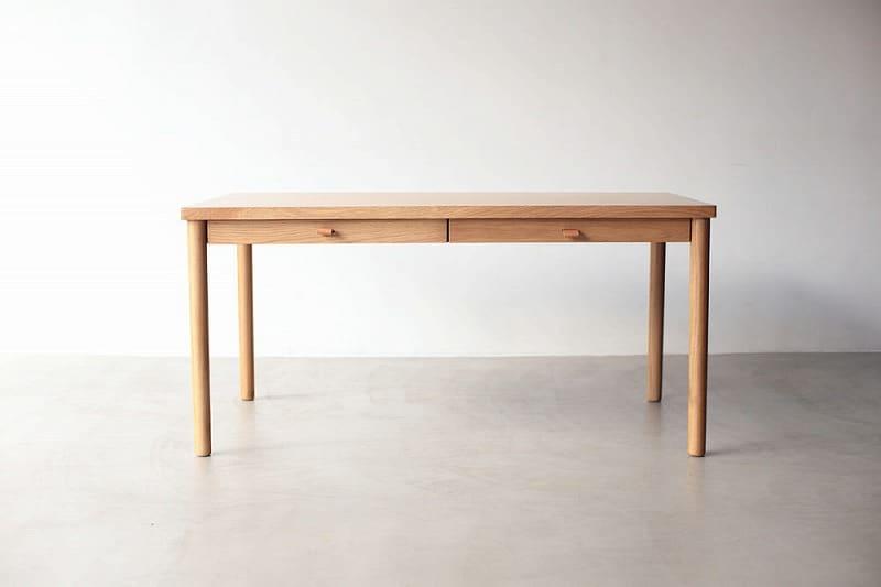 ダイニングテーブルDT150 バッケン�U オークOAK:ダイニングテーブル