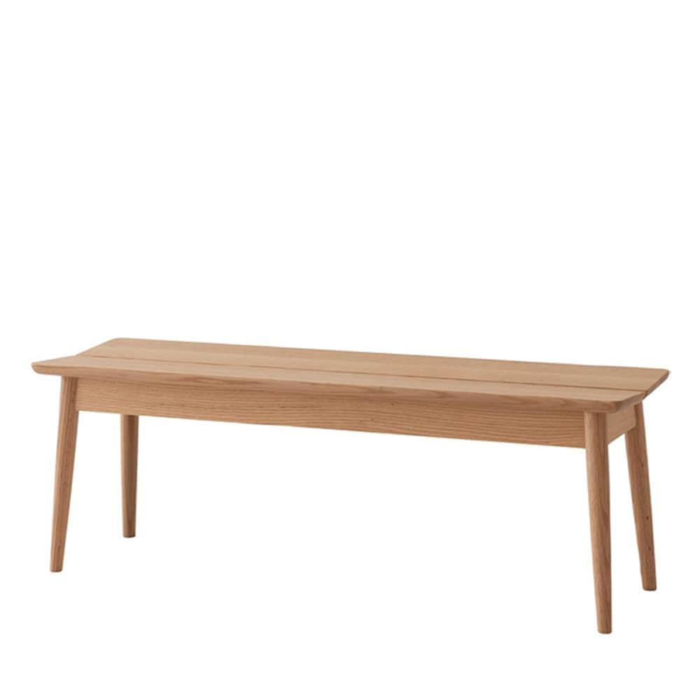 ベンチ 広葉 CQ661R レッドオーク:WO色:飛騨の家具